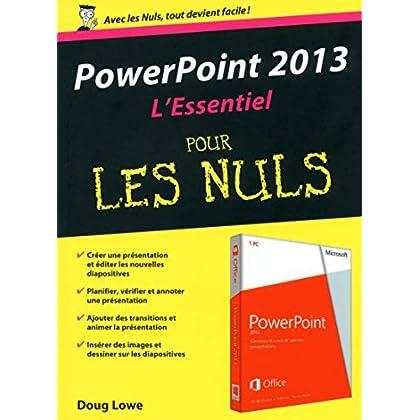 PowerPoint 2013 : L'Essentiel pour les Nuls