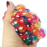 Yidartono 2018 Squeeze Ball Toy,Colourful Mesh Ball Anti Stress Hand Wrist Toy Balls Stress Relief Healthy Venting Ball Sport Birthday Party gift,Best Gift For Kids Children