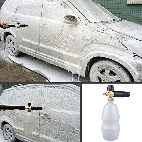 xnbnsj Autowaschschaum Topf Auto Reinigung Schaum Lanze Verstellbare Wasserpistole Hochdruckreiniger