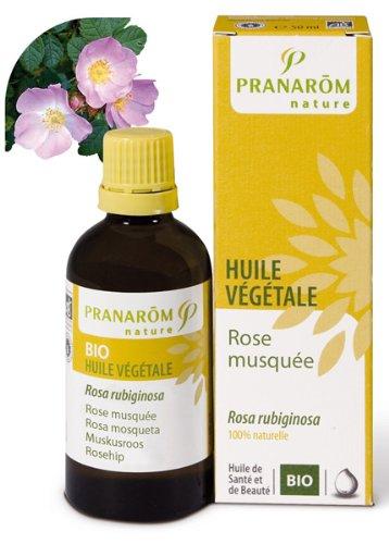 Pranarôm Huile Végétale Rose Musquée Vierge 50 ml