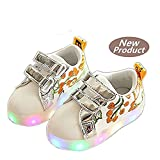 Zapatos LED Zapatos ligeros de los niños, Stillshine - Niños Niños Chicas Lovely LED Zapatos Zapatillas de Halloween Regalo de Navidad (23, Estilo 2)