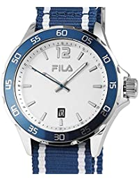 5965ffc5c262 Fila Men s Watch Blue with Date