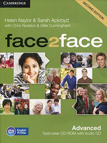 face2face Advanced Testmaker CD-ROM and Audio CD Second Edition