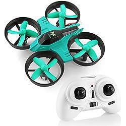 Mini Drone , F36 Mini RC Drone 2.4G 4 Canales 6-Axis Gyro 3D-Flip UFO Control Remoto Quadcopter RTF con una Clave de Retorno , Modo sin Cabeza Grandes Regalos Juguetes