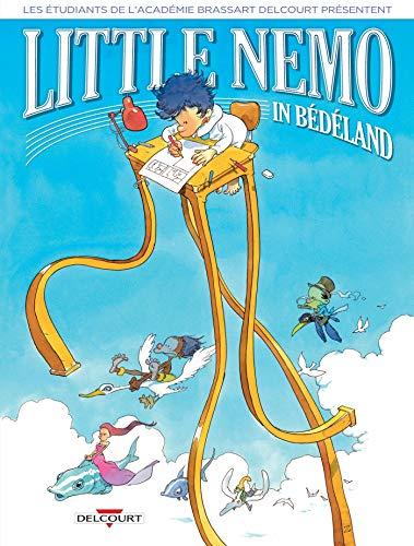 Couverture du livre Little Nemo in Bédéland (Les étudiants de l'Académie Brassart-Delcourt présentent : t. 1)