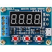 Qiman ZB2L3 Li-Ion Lithium-Blei-Säure-Batterie Kapazität Meter Entladung Tester Analyzer