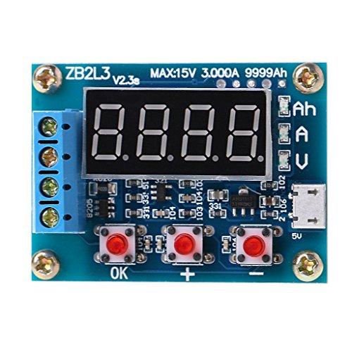 SHUXIN ZB2L3 Lithium-Ionen-Akku Kapazität Messgerät Entladungsprüfer Analyzer