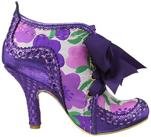 Irregular Choice - Stivali Abigail's Third Party, Donna Purple (Purple Multi Floral)
