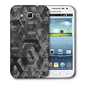Snoogg Space Black Abstract Printed Protective Phone Back Case Cover For Samsung Galaxy Samsung Galaxy Win I8550 / S IIIIII