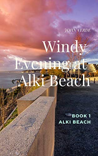 Windy Evening at Alki Beach (Alki Beach  nº 1) par JOHN VERDE