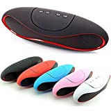 #10: Gizmozeus Mini-X6U Portable Wireless Bluetooth Rugby Style Mobile/Tablet Speaker Colour May Very