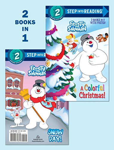A Colorful Christmas!/Snow Day! (Frosty the Snowman) (Step Into Reading, Step 2- Frosty the Snowman) por Courtney Carbone