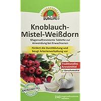 Sunlife Knoblauch- Mistel-Weißdorn, 240 Stück preisvergleich bei billige-tabletten.eu