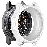 Gaddrt Uhr Schutzhülle, Weiche TPU-Schutzhülle aus Silikon für Gear S3 Frontier/Galaxy-Uhr 46 (Weiß)