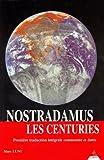 Nostradamus. Les centuries