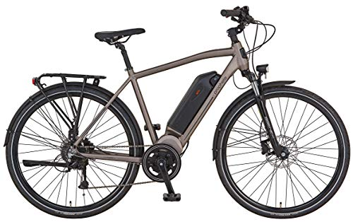 "Prophete ENTDECKER e9.7 Trekking E-Bike 28\"" Herren Elektrofahrrad graphit-grau matt RH 52 cm"