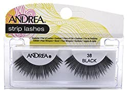 38 Black : Andrea Style Eyelashes, 38 Black