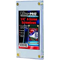 "Ultra Pro 1/4"" Screwdown Recessed Trading Card Holder"