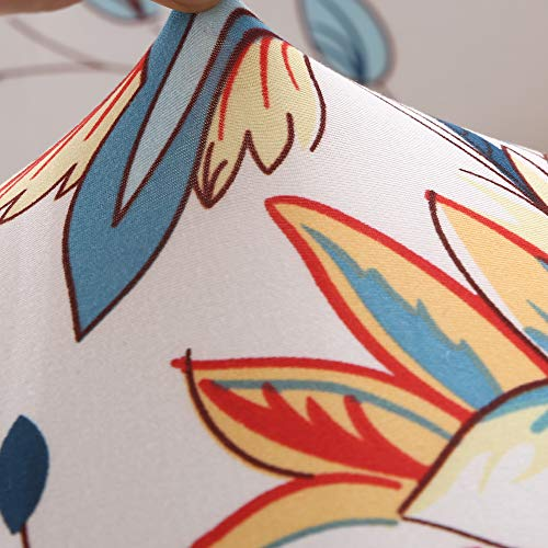 ENZER Tessuto Elastico Divano Slipcover Fiore Uccello Modello Sedia Divano Loveseat Settee Sofa Covers 1-Piece Pet Dog Protector, Cleome Spinosa, 2 posti