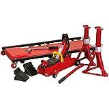 Sealey jkit01garaje kit incluye Jack/Creeper cuñas y soportes de eje–rojo