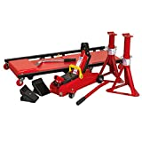 Sealey JKIT01 Lifting Kit 5pc 2tonne (Inc Jack, Axle Stands, Creeper, Chocks & Wrench)