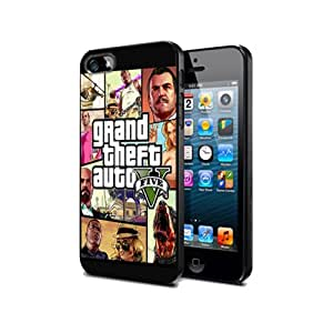 GTA5 Grand Theft Auto V 5 Game Telephone Cas coquill pour SAMSUNG GALAXY S3 mini SILICONE Cover Case Black@UTMSHOP