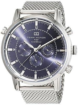 Tommy Hilfiger Hombre Reloj de pulsera Cronógrafo Cuarzo Acero inoxidable 1790877