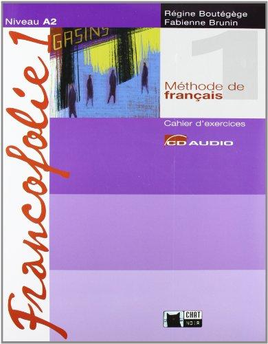 Francofolie 1. Cahier D'Exercices (+ 2 CDs) (Chat Noir. methodes) - 9788431681821