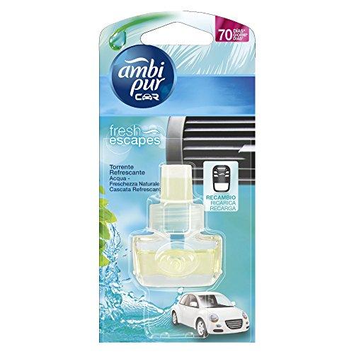 Ambi Pur - Ricarica per Deodorante per l'auto, elimina gli odori - 7 ml