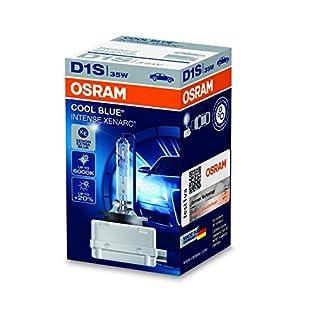 Osram XENARC COOL BLUE INTENSE D1S HID Xenon-Brenner, Entladungslampe, 66140CBI, Faltschachtel (1 Stück)