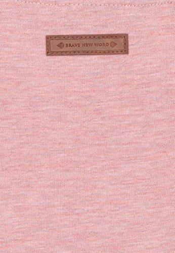 Naketano Female Sweatshirt Krokettenhorst Schmutzmuschi Pink Melange, M - 3