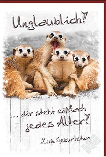 Geburtstagskarte Erdmaennchen Im Vergleich Mar 2019 Top 10