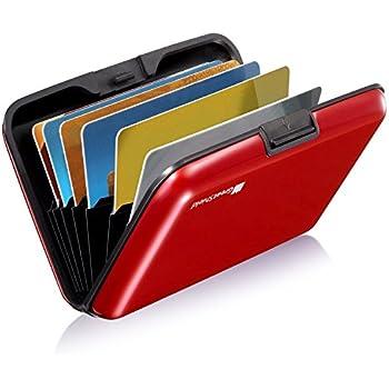 Alu wasserdichte Kreditkarten Visitenkarten Etui Case