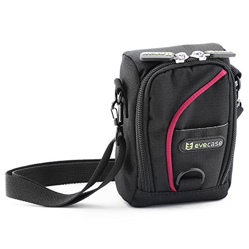 evecase-compact-durable-digital-camera-pouch-nylon-carrying-protector-case-with-strap-for-canon-powe