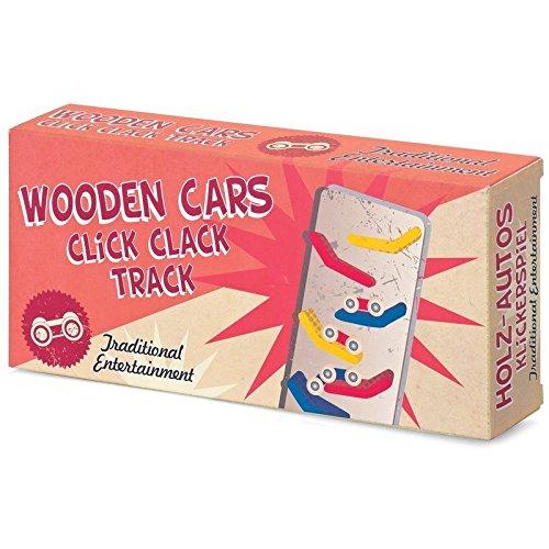 Wooden Cars Click Clack Track