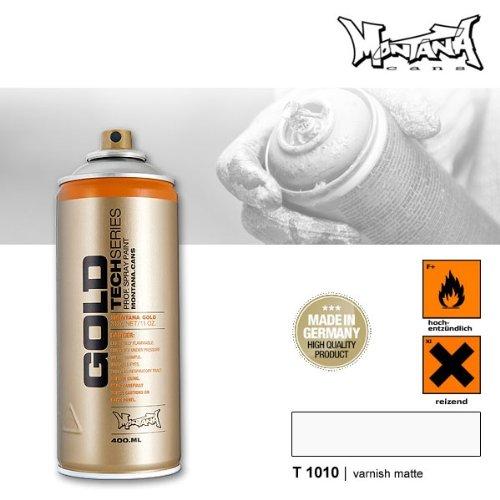 Montana Gold Serie T1010 Klarlack matt, 400 ml Sprühdose -