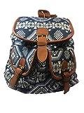 Mochila etnica mujer famosas hippies cuero | Mochila Etnica | Escolar universidad | Mochila Casual pequeña unisex hombre y mujer