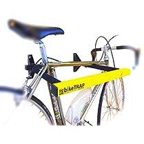 Candado y soporte antirrobo de pared para bicicletas