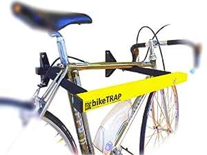 Support mural pour v lo et cadenas antivol d haute s curit biketrap garder votre v lo - Cadenas pour velo ...