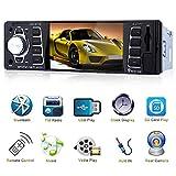 """Autoradio mit Bluetooth und USB 4.1"""" Bildschirm, Auto Radio mit Rückfahr Kamera Eingang, FM Radio MP3 USB/SD/Aux freisprecheinrichtung mit Fernbedienung"""