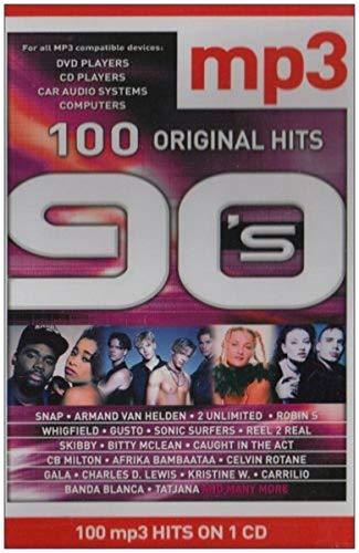 100 Original Hits 90'S Dvd-Siz