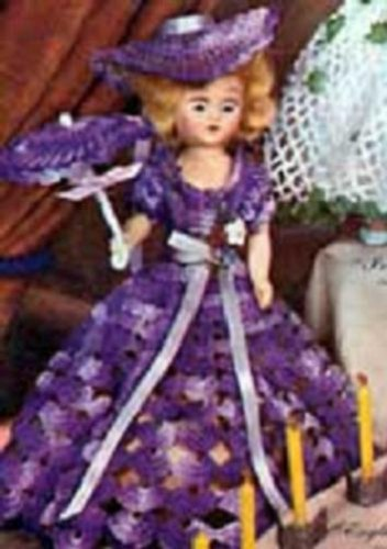 ENGLISH LAVENDER DOLL - A downloadable vintage 1951 crochet pattern. Text-to-Speech enabled. Available for Download to Kindle DX, Kindle for PC, Mac, iPhone, ... NorthernLightsVintage) (English Edition)