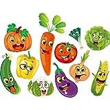 Dessin Animé Émoticône Autocollant Sticker Mural Armoire De Cuisine Armoire Porte Porte Porte Autocollant Décoré Papier Peint Autocollant Étanche 85 X 65 Cm...