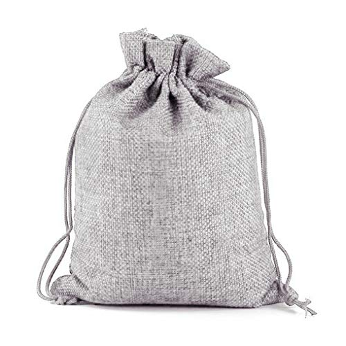 ace Bracelets Linen Drawstring Storage Bags Jewelry Packaging Pouch Small Cosmetic Case ()