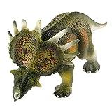 WANNA.ME Modello di Dinosauro simulato educativo per Bambini Giocattolo per Dinosauro Giocattolo per Bambini (Multicolor, A)