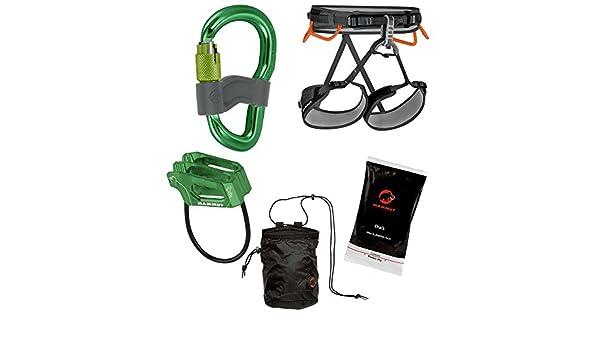 Mammut Kinderklettergurt Ophir : Kletterset mammut ophir 4 slide climbing package m xl grün grau