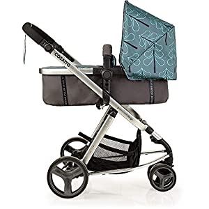 Cosatto Giggle Mix Pram & Pushchair Fjord Cosatto Includes - Pram & Pushchair, Hold Car seat, Adaptors, Apron and Raincover Suitable from birth up to 15kg, One unit transforms from newborn pram mode into pushchair mode. Space saving. No need to buy separates. 'In or out' facing pushchair seat lets them bond with you or enjoy the view. 10