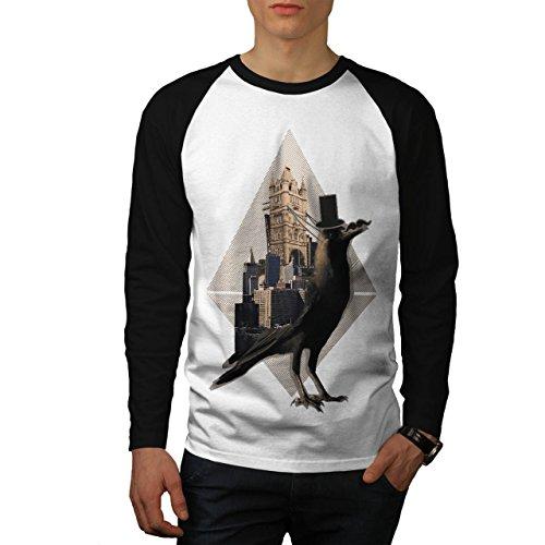 london-bridge-bird-animal-tower-bridge-men-white-black-sleeves-l-baseball-ls-t-shirt-wellcoda