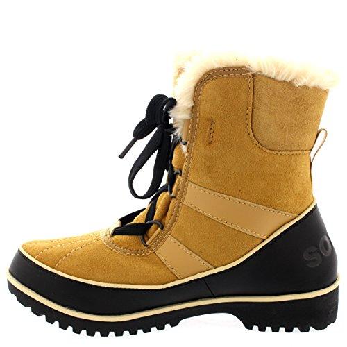 Damen Sorel Tivolli Ii Winter Schnee Regen Wasserdicht Pelz Sitefel Weizen