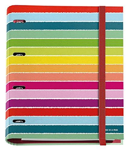 agatha-ruiz-de-la-prada-20115-folder-4-rings-25-mm-with-notepad-a4-multi-colour